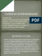 Control en La Administración