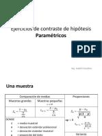 Contrastes Parametricos