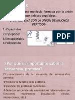Secuenciación e Identificación de Proteínas.