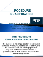 Procedure Qualification