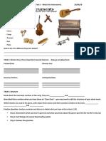 Y12 IB Music SL Term 3 Lesson 16 Student Sheet Son and Mexico