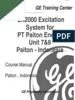 EX2000+Excitation+Training