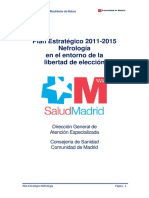Plan Estratégico 2011-2015 Nefrologia en El Entorno de La Libertad de Expresion
