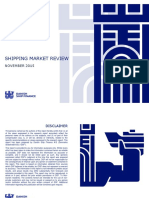 Shipping Market Review November 2015