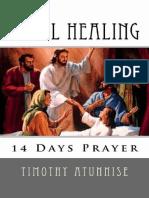 14 Days Prayer for Total Healing