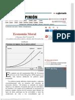La Jornada Economía Moral