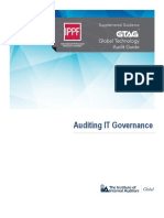 GTAG 17 Auditing IT Governance