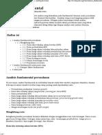 Analisis Fundamental - Wikipedia Bahasa Indonesia, Ensiklopedia Bebas