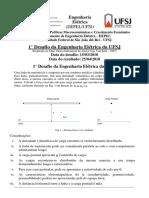 1º Desafio da Engenharia Elétrica Proposto.pdf