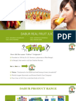 Dabur Real Juice - Group 9 Division C.pptx