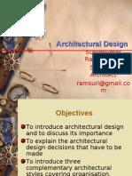 Session 6 - Architectural Design