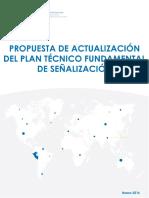 Plan Técnico Fundamental de Señalización