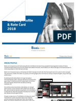 Rate Card 2018