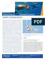 Galapagos b Westernnorthern Route Dossier