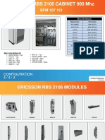 Ericsson RBS2106 900Mhz Cabinet