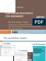 Multimedia Course on Continuum Mechanics MCCM v10