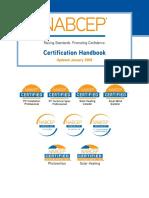 NABCEP Certification Handbook V2018.Compressed