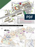 Plan Université Bordeaux Montaigne