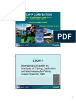 STCW-F CONVENTION QUEBEC REGION STANDING COMMITTEE ON FISHING VESSEL SAFETY CERTIFICATION AND TRAINING