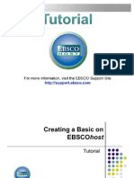 Tutorial EBSCO