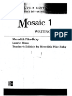 Mosaic 1 Writing Silver Ed