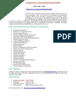 Informatics Engineering, An International Journal (IEIJ)