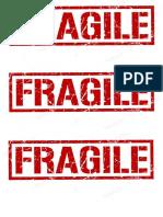 fragile tag