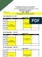 Horarios - Filosofía Presencial LAC 2018 LAR - 1 2 2018 - 15.03.2018 - PROFESORES