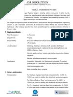 Milekal_Job Description_Jr. Associate - Projects