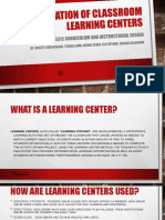 learning centers within a classroom  gulnaz aslanova   2
