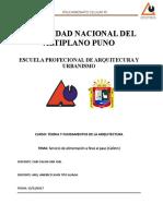 Univesidad Nacional Del Altiplano Puno