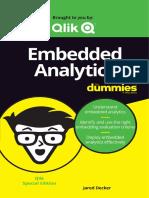 Embedded Analytics for Dummies
