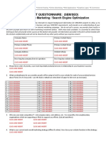 Client Questionnaire SEO, PPC