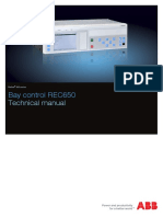 1MRK511287-UEN a en Technical Manual Bay Control REC650 1.3 IEC