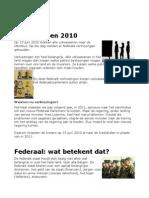 Verkiezingen 2010