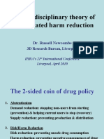 A Multi-disciplinary Theory of Drug-related Harm Reduction