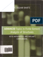 Advanced topis in Finite element analysis