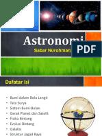 1. Astronomi (mhs)