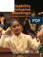 Disability Inclusive Meetings PDF