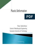 4 Plastic Deformation