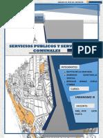servicios públicos y servicios comunales