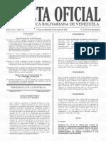 Gaceta Oficial Extraordinaria N° 6.383