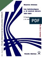 Maurice Brinton - Los bolcheviques y el control obrero 1917-1921 - El Estado y la contrarrevolución.pdf