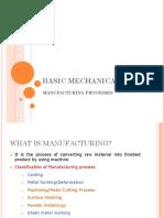 Manufacturing Process CHETAN