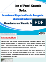 Production of Pearl Caustic Soda