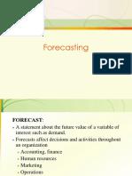 6 Forecasting