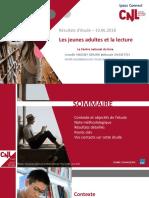 Les Jeunes Adultes Et La Lecture 2018-06-15