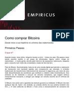 17-Como Comprar Bitcoins