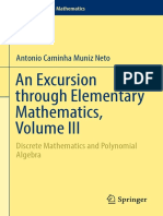 [Problem Books in Mathematics] Antonio Caminha Muniz Neto - An Excursion Through Elementary Mathematics, Volume III_ Discrete Mathematics and Polynomial Algebra (2018, Springer)