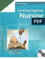 Cambridge English for Nursing (Pre-Intermediate)